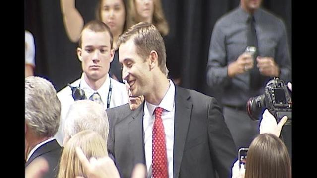 Red Raiders Happy To Have Kingsbury