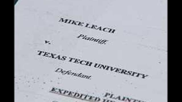 Leach files Court Papers