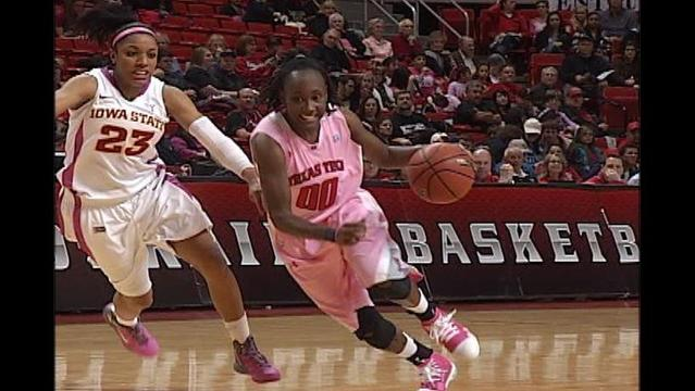 Lady Raiders Grab 10-Point Win Over Cyclones