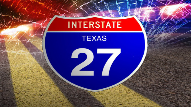 Rollover Accident Reported Sunday Afternoon on Interstate 27