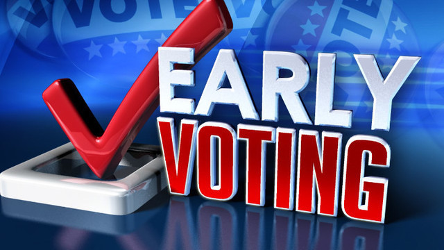 Early Voting for the November 8, 2016 General Election Begins Monday