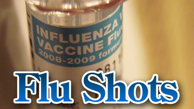 City Offers Drive-Up Flu Clinic at Health Department