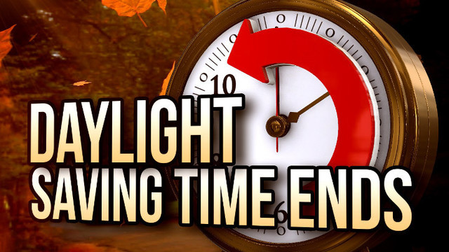 Daylight Saving Time Ends This Sunday, November 5