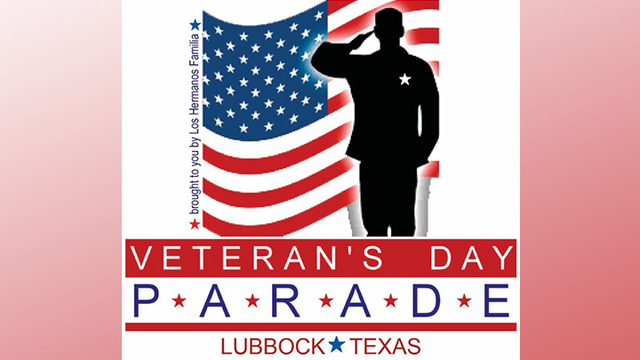 Second Annual Veterans Day Parade in Lubbock on Saturday, November 11