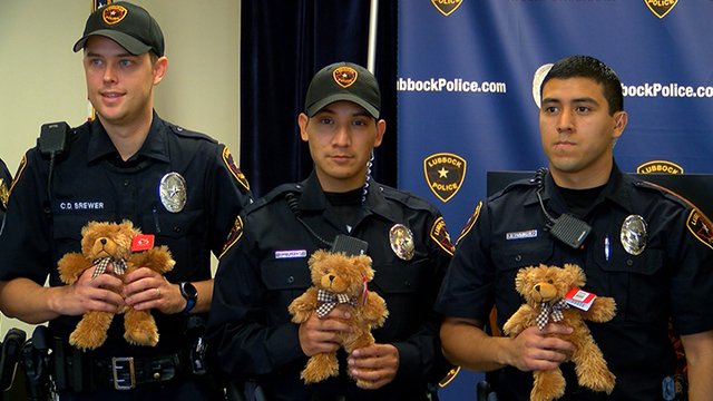 Local Company Supports Lubbock Police with Teddy Bear Donation