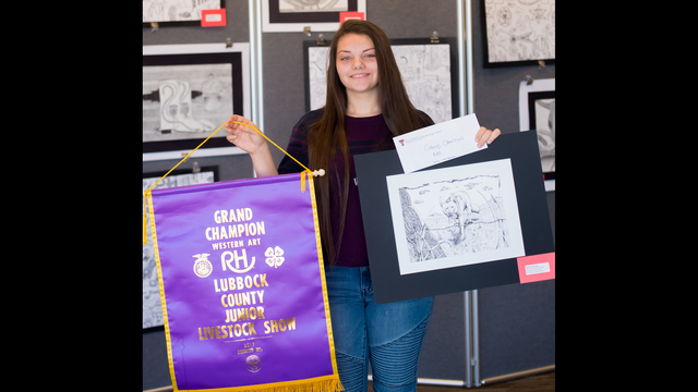 Western Art Contest for Area Youth Names Award-Winning Artists