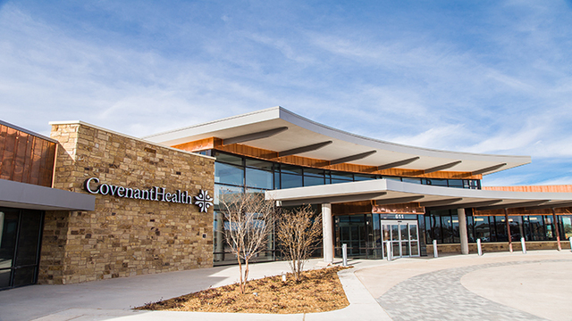 Covenant Health to Open Northwest Clinic