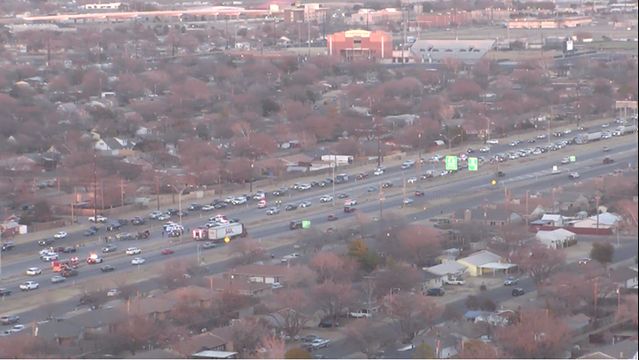 Multi-Vehicle Accident Reported on South Loop 289 Late Wednesday Afternoon