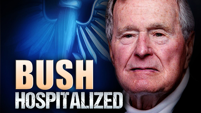 President George H.W. Bush Recovers from Pneumonia but Remains in Houston Hospital