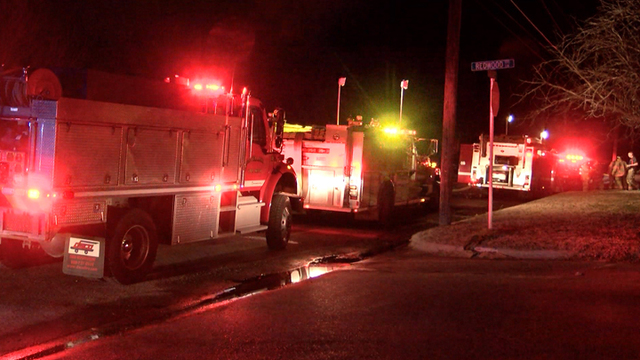 Levelland Fire Dept. Battles Flames at House Tuesday Night