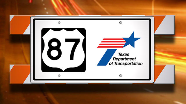 US 87 Frontage Road Repairs Taking Place at 114th Street, FM 1585