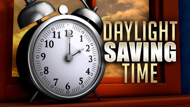 Reminder: Daylight Saving Time Returns Early Sunday, 'Spring Forward' One Hour