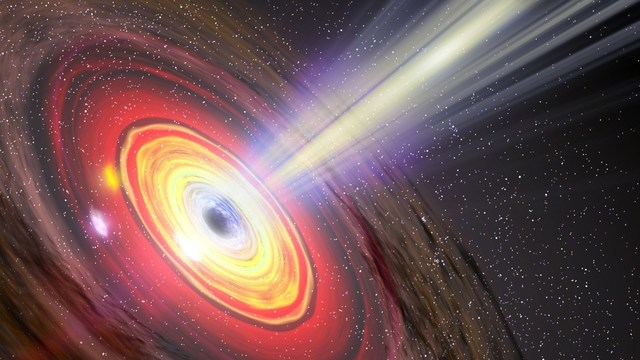 Scientists Catch Star And Possible Black Hole In A Rapid, Dangerous Dance