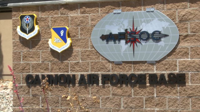 Cannon AFB plane crashes in training exercise
