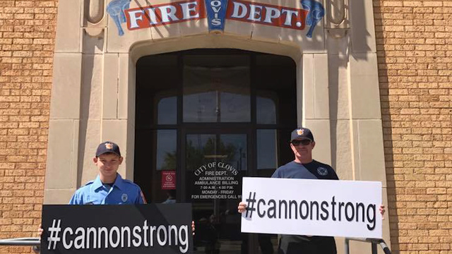 #CannonStrong Campaign Supports Clovis Community After Crash