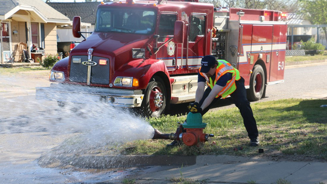 City of Plainview to Flow Test Fire Hydrants Starting April 1