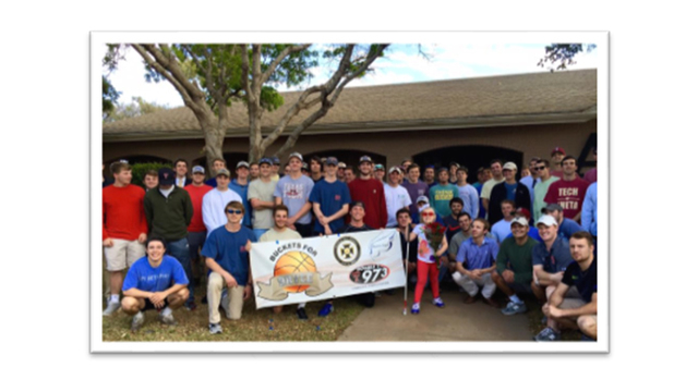 Texas Tech Fraternity Raises Funds for Orphan Disease