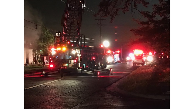 Fire Breaks Out at Central Lubbock Apartment Complex