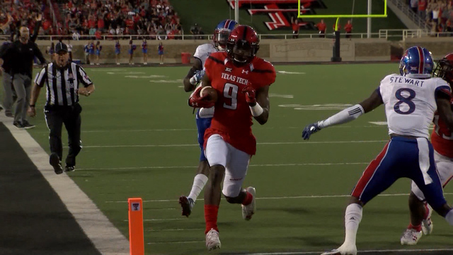 WR Jonathan Giles announces transfer from Red Raiders