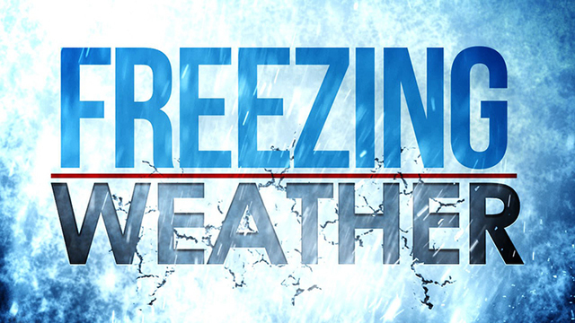 Freeze Warning Issued for Portions of the South Plains for Saturday Night & Sunday Morning
