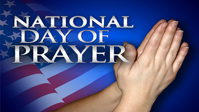 National Day of Prayer today