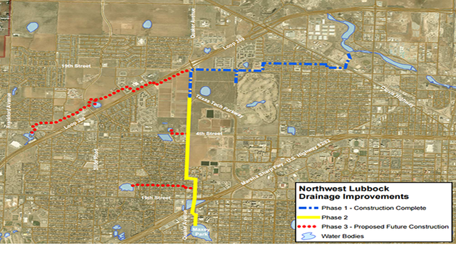Street Closure on Quaker Avenue From Texas Tech Parkway to 4th Street Starting Thursday