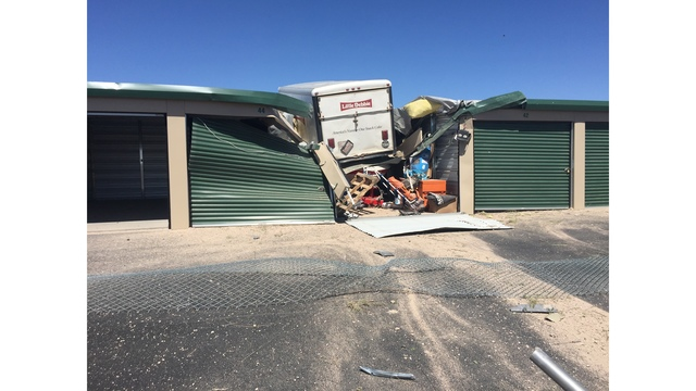 Hobbs Driver Crashes into Storage Units, Arrested for Driving Under the Influence