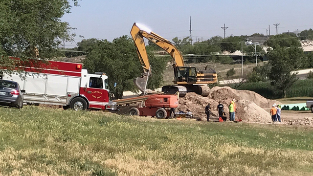 Man Rescued From Trench at Lubbock Construction Site