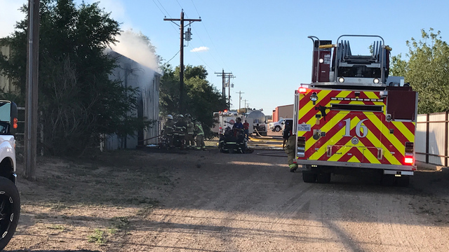 Firefighters Respond to Reported Structure Fire Saturday Evening
