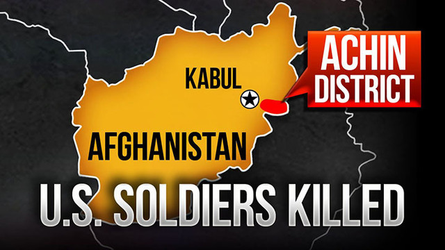 3 US Soldiers Killed in Insider Attack in Afghanistan Identified