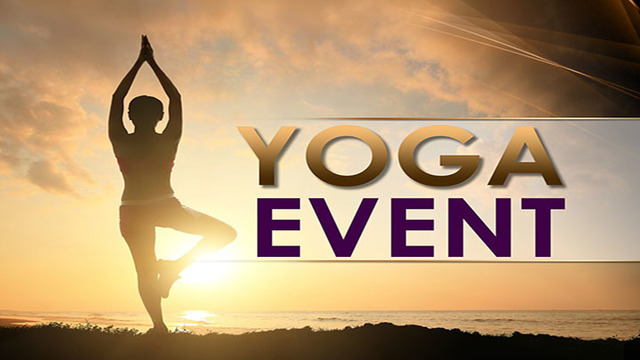 Reminder: Yoga in the Plaza Being Held Saturday Mornings in July and August