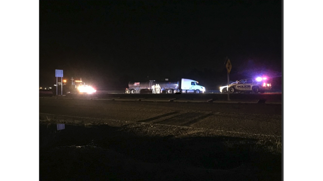 Woman crossing Highway 84 hit and killed by a semi truck