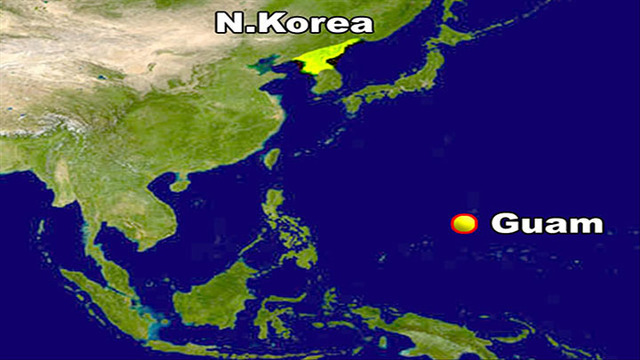 To Know About Guam The US Territory Targeted By North Korea - Guam on a us map