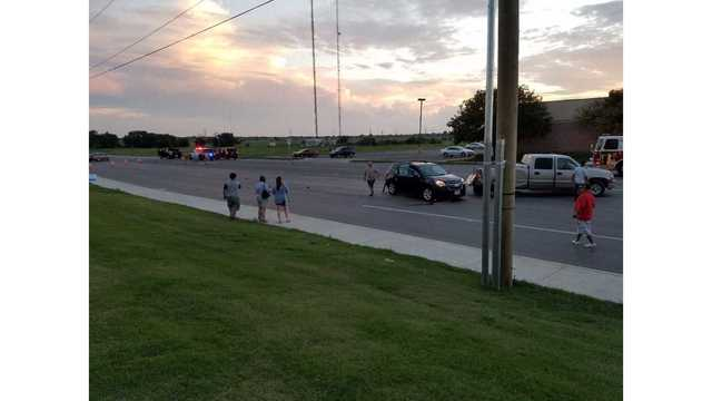 LPD Responding to a Mulitple Car Crash at 98th and University