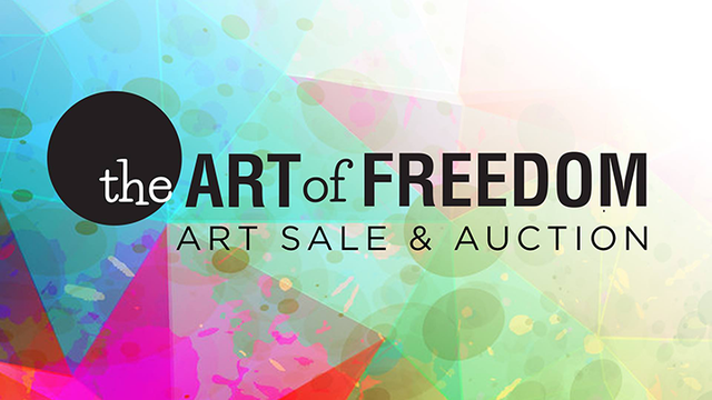 The Art of Freedom Art Sale and Auction Scheduled for November 3