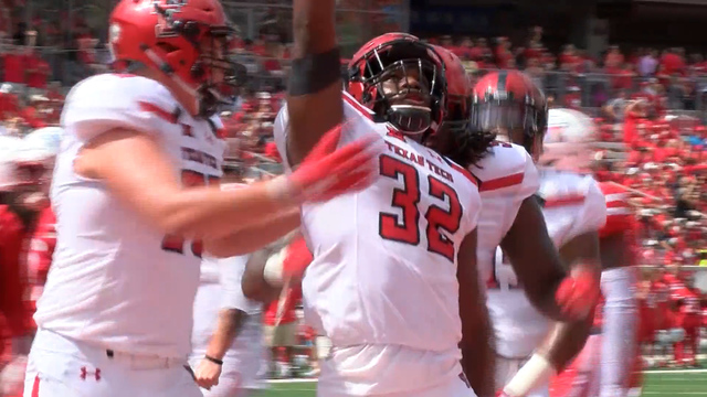 Tech wins 27-24 against Houston