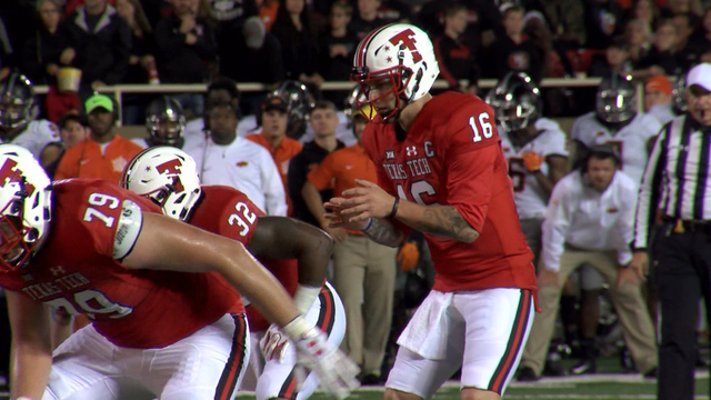 Texas Tech hangs tough, falls short to No. 15 Oklahoma State