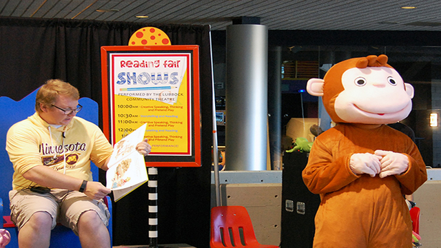 Creative Learners Reading Fair at the Science Spectrum on Saturday, October 7