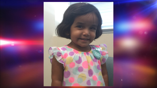 Amber Alert issued for 3-year-old Richardson girl