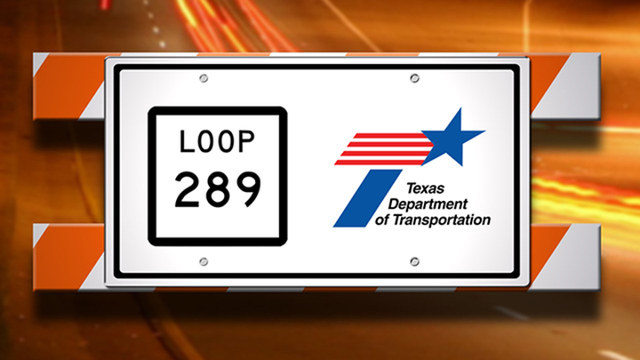 Southbound West Loop 289 Frontage Road Repairs Start Wednesday