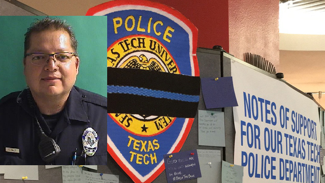 TTUHSC Gives Details: Memorial Service for Texas Tech Police Officer Floyd East Jr.