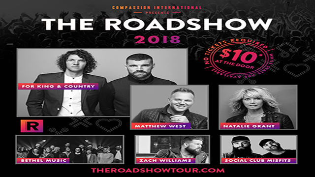 The Roadshow 2018 Coming to United Supermarkets Arena on March 23