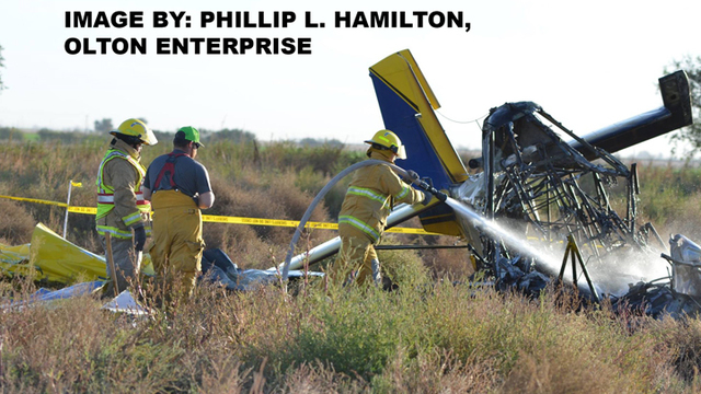 DPS Called to Plane Crash Tuesday Morning in Lamb County