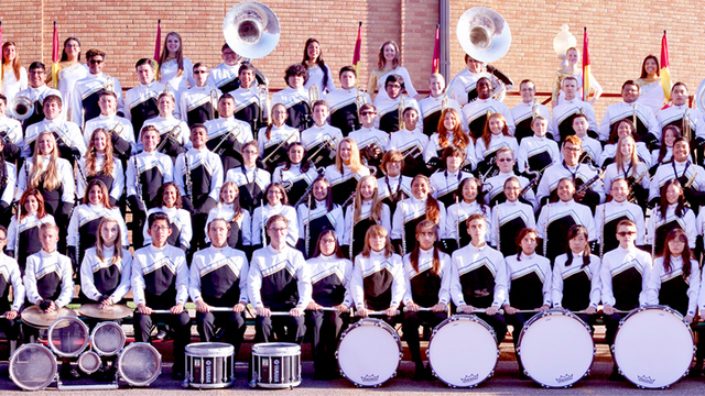 Lubbock High Marching Band Headed to State Competition