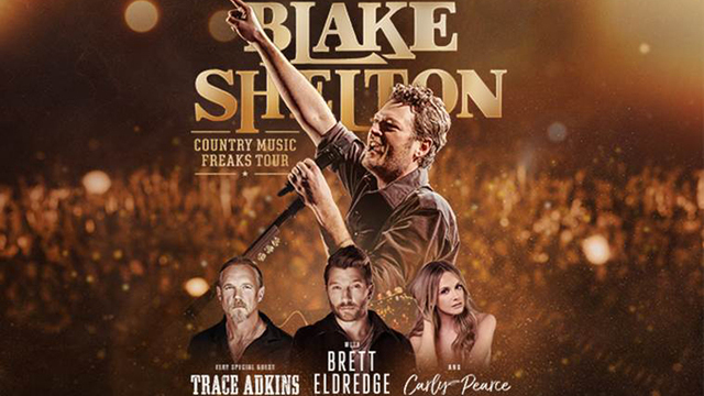 Blake Shelton Coming to Lubbock in February