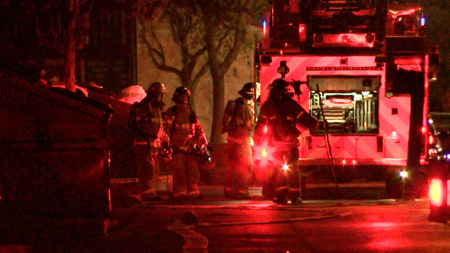 Lubbock Fire Rescue Called to South Lubbock Apartment Complex For Reports of a Fire
