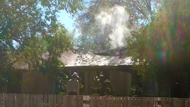 Family Displaced by House Fire Friday Afternoon