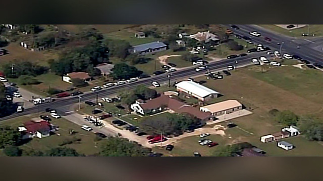 Update: 26 Dead in Sutherland Spring, Texas Church Shooting; Shooter ID'd
