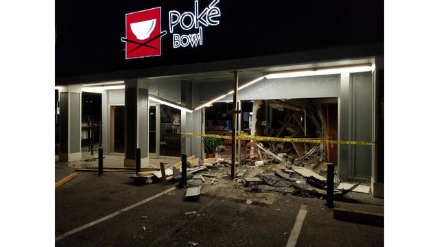 UT student slams into restaurant along The Drag, charged with DWI
