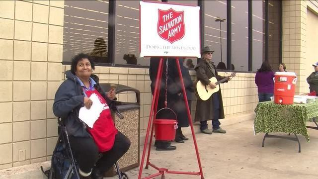 Salvation Army Helps Bell Ringer Through Homelessness